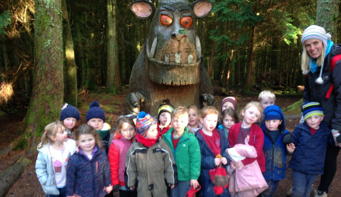 Class One Whinlatter Visit